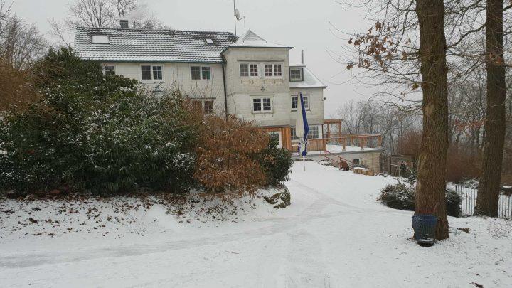 Waldhaus Pfaffenberg im Winter